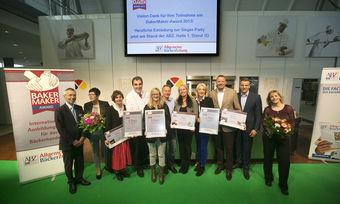 Strahlende Sieger auf der Preisverleihung in Stuttgart.