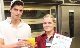 Glückwunsch: Die beiden haben in NRW die Nase vorn.