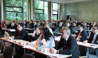 Volles Haus beim Backkongress 2013: Zahlreiche Kollegen, Filialisten und Zulieferer nutzen die Gelegenheit, sich über Markttrends und Perspektiven zu informieren.