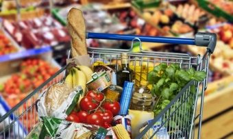 In Deutschland bleibt der Lebensmittelabsatz stabil.