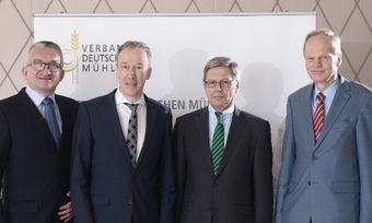 Die Sprecher des Vorstands mit VDM-Geschäftsführer (von links): Michael Gutting, Peter Haarbeck, Karl-Rainer Rubin, Hans-Christoph Erling.