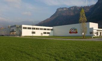 Produktionsstandort von Ölz in Wallenmahd/Österreich.