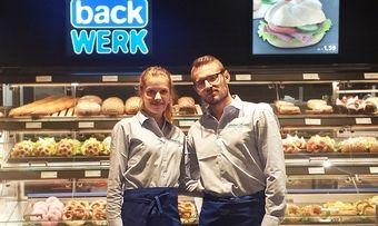 Zukunft bei Backwerk gefunden: Jana Beller und Dimitri Ehret.
