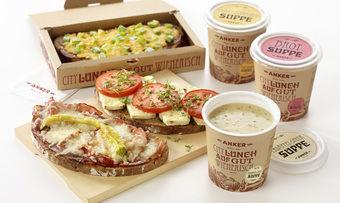 Mit den drei warmen Broten und den drei Suppen bietet Anker eine neue und kreative City Lunch-Variante an.