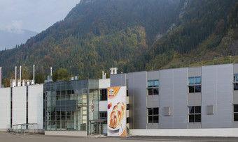 Die Produktionsstätte in Wallenmahd ist einer der Standorte der Rudolf Ölz Meisterbäcker GmbH.