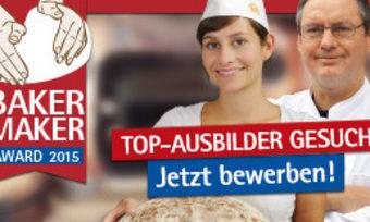 Gute Ausbilder bewerben sich für den BakerMaker-Award.