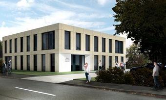Die Firmenzentrale der Mestemacher-Gruppe in Gütersloh.