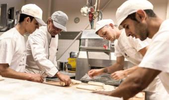 Die Azubis in der Bäckerei Dries freuen sich über zahlreiche Annehmlichkeiten.