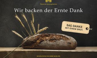 Plakate, Flyer und besondere Aktionen zum Erntedankfest finden Bäcker im Katalog der Werbegemeinschaft.