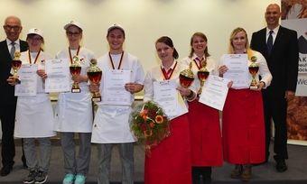 Dieser Berufsnachwuchs ist top: Die Deutsche Meisterschaft der Bäckerjugend ist entschieden.