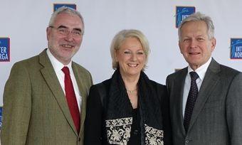 Informieren im Vorfeld der Messe (von links): Messechef Bernd Aufderheide, Projektleiterin Claudia Johannsen und Prof. Dr. Wolfgang Irrgang.