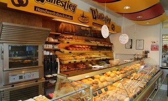 Eine von insgesamt elf Filialen der Bäckerei Wulfestieg, die jetzt Insolvenz angemeldet hat.