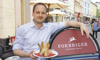 Jan Forbriger verliert einen Standort bei Lidl,hat aber eine Idee, wie es weitergehen könnte.