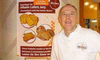 """Frank Blesgen nahm bei """"Deutschlands bester Bäcker 2015"""" teil und erreichte den Tagessieg. Im Video erklärt er, welche seiner Produkte bewertet wurden."""