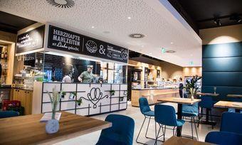 """Das """"Liebesbrot""""-Konzept umfasst Elemente von Bäckerei, Konditorei und Brasserie."""