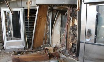 Bei der Explosion in der Bäckerei wurde der Mitarbeiter einer Wartungsfirma leicht verletzt.