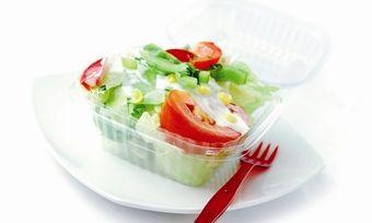 Salate, Suppen, Sandwiches, Obst und Gemüsegerichte sind das Kerngeschäft der Systemgastronomiekette.