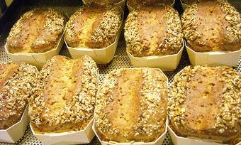 """""""Knust"""" wollte handwerkliche Produkte wie solche Dinkel-Lupinen-Brote fördern."""