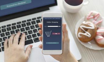 Per Smartphone und Laptop kann man nun bei Kaufland einkaufen.