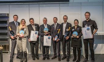 Die Gewinner des Trend Awards bei der Preisverleihung auf der Südback.