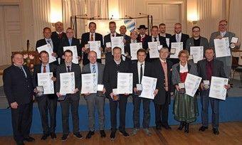 """20 Bäcker aus Bayern sind für die konstante """"Spitzenqualität"""" ihrer Backwaren ausgezeichnet worden."""