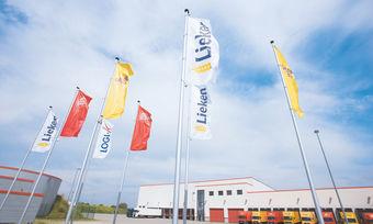 Die Großbäckerei Lieken baut derzeit ein neues Produktions- und Verwaltungsgebäude in Wittenberg.
