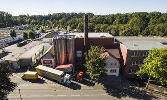 Der Firmensitz von Mestemacher in Gütersloh.