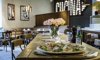 Die Pizza ist nur einer der italienischen Klassiker, mit denen das Franchiseunternehmen punktet.