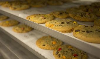 Cookies aus der Linienproduktion bei Aryzta.