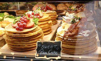 Pancakes vom Bäcker als Idee der Konzeptwerkstatt Merge.