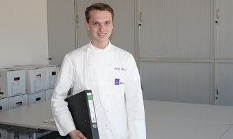 Zielstrebig: Moritz Metzler studiert dual BWL und Handerk in Stuttgart.