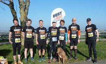 Ein Teil des Brotlauf-Teams beim letzten Lauf in Lichtenau.