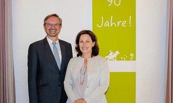 Doppelspitze: Johannes Klümpers (links) und Cornelia Veit.
