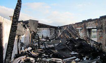 Bei einem Brand in einer Backstube wurde ein Mitarbeiter verletzt.
