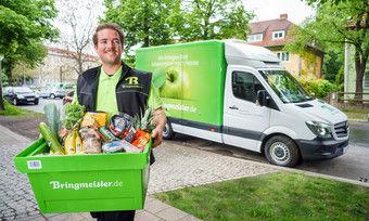 In Berlin und München können sich Kunden Lebensmittel zeitnah liefern lassen.