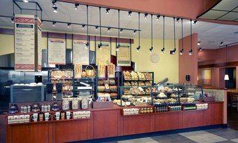 Blick in den Verkaufsraum von Panera Bread, das inzwischen zur JAB Holding gehört.