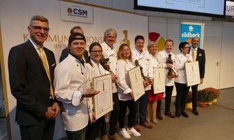 Marketingexperten: Preisträger, Jurymitglieder und CSM-Vertreter beim Zacharias.