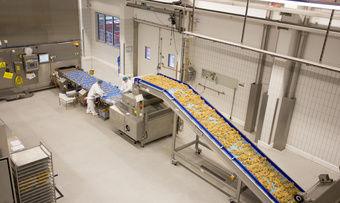 Blick in eine der Produktionsanlagen von Aryzta.