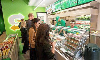 Die Subway-Standorte werden nach und nach visuell neu gestaltet.
