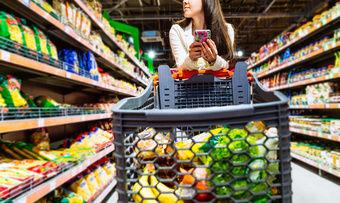 Volle Fahrt voraus: Die Ernährungsindustrie profitiert von der Konsumlaune der Verbraucher.