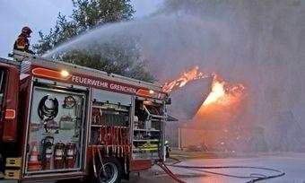 In Eilenburg musste die Feuerwehr einen Backstubenbrand löschen.