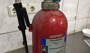 Feuerlöscher dieses Typs sollen falsch befüllt sein.