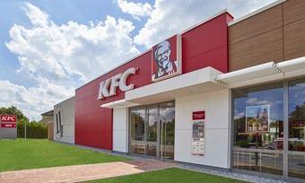 Einer von rund 170 Standorten in Deutschland – Kentucky Fried Chicken in Bielefeld.
