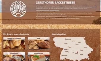 Die Gersthofer Backbetriebe beliefern den Handel vorwiegend in Süddeutschland.
