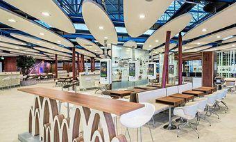 """Bis Ende 2019 sollen die McDonald's-Restaurants deutschlandweit als """"Restaurant der Zukunft"""" umgestaltet sein."""