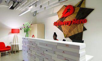 Der Online-Marktplatz Delivery Hero verzeichnet hohe Umsätze.