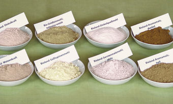 Die abgebildeten Backzutaten sind einzeln oder auch als Kombinationsbackmittel erhältlich.