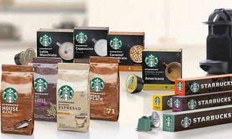 Nestlé führt Kaffee-Produkte unter der Marke Starbucks ein.