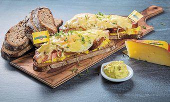 Ob heiß oder kalt: Beim Wettbewerb sind individuelle Snacks mit Käse und Brot gefragt.