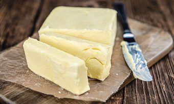 Die Preise für Butter gehen nach unten.